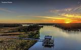 Bon Secour Boathouse Sunset