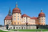 Schloss Moritzburg Castle close up