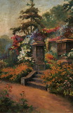 Summer Garden, by George Henry Wimpenny (1857–1939)