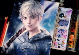 Jack frost by sakimichan in watercolor