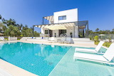 Pretty luxury modern villa Corfu, Greece