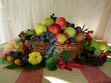 Frutas en canasta