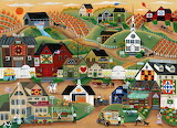 Amish Quilt Village - Cheryl Bartley