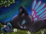 Black cat fairy