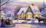 Thomas Kinkade-Christmas