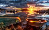 #Harbor Sunset