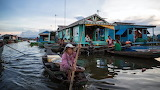 House boats in Asia