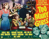 """Too Many Girls"" 1940 Movie Lucy-Desi"