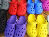 Colours-colorful-crocs shoes