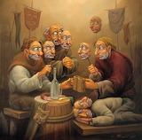 Maschere, di Anatoliy Kozelsky