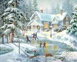 'A Fine Winter's Eve' by Nicky Boehme
