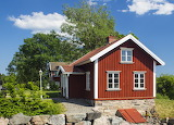 Red Cottage Sweden - Photo from Piqsels id-jgydu