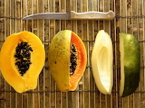 Avokado-frukt-nozh