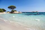 Beautiful italian beach Plage palombaggia
