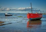 United Kingdom Coast Boats Morecambe Bay Clouds 514880 1280x904