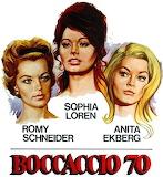 Romy Schneider, Sophia Loren & A. Ekberg in Boccaccio '70 (1962)