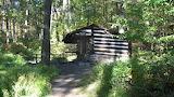 Mile 1036 Pine Knob Shelter