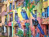 Facade-architecture-windows-painting-art