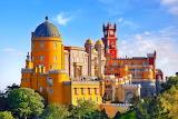 Sintra castle, Losbon, Portugal