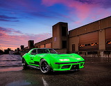 1968 Chevrolet Corvette Green Mamba