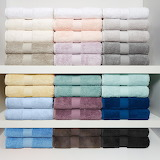 Colorful towel display