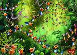 Tukans im Dschungel