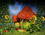 Forest-night-with-magic-mushroom-house-photography-backdrop-j-04