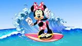 Minnie Surfing