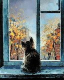 Cat in the Window, Alexander Gunin