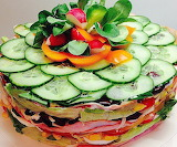 Salad cake @ torteundmehr.at