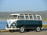 1963 VW T1 Deluxe Samba Bus