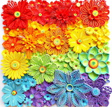 Paper Quilling Rainbow