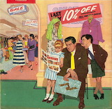 Shopping the Sales~ vintage magazine art