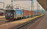 Container train at Budapest - Kelenfold Station