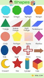 List of Colours and Shapes