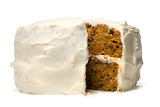 ^ Carrot Cake with Cream Cheese Icing
