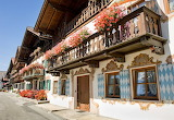 Village of Garmich-Partenkirchen Germany