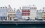 Copenhagen canal houses