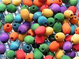 beads in net