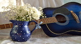 White Flowers And A Blue Guitar