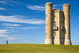 Broadway Tower in Cotswolds, England
