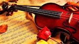 #Violin and Sheet Music