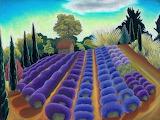 Lavender light, Jane Aukshunas