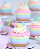 Easter mini cheesecakes