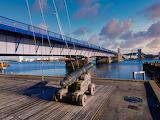 Limfjords Bridge, Aalborg Denmark