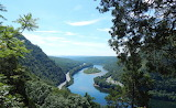 Mile 1286 Delaware River From Mount Tammany