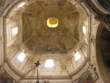 Prag, Plafond de l'église Saint Nicolas, Cz