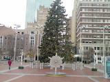 Christmas Time on the Plaza Downtown City of Fort Worth