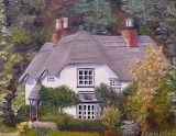^ Thatched Cottage, England ~ Dianbe Daigle
