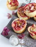 Nectarine rose tarts